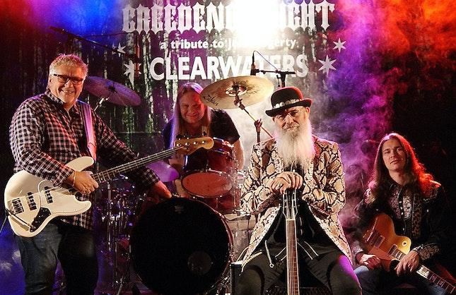 Vi husker alle den fenomenale musikken til Creedence Clearwater Revival på...