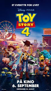 Toy Story 4 filmplakat