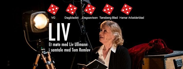 Et møte med Liv Ullmann; Om livet, karrieren, og alt hun drømmer om å gjøre....