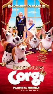 Dronningens corgi filmplakat