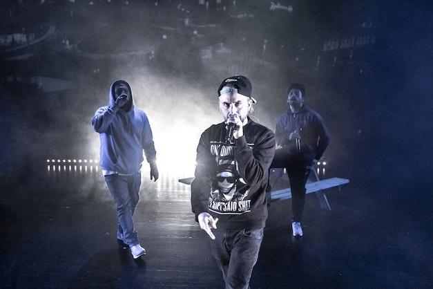 Hip hop-forestillingen med Don Martin, Fela og Castro ble en braksuksess på Det...
